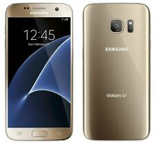 New Samsung Galaxy S7 SM-G930T 32GB T-Mobile Locked Gold Smartphone