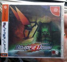 Border Down Sega Dreamcast version jp complet