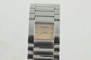 Baume Mercier Catwalk Women's Watch With Original Steel Bracelet RAR + MVO45197