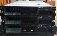 IBM X3650 M4  Dual Xeon E5-2620 16GB RAM  2 x 750W PSU