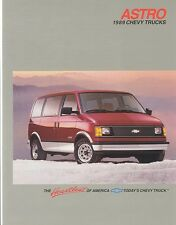 1989 Chevrolet Astro CS CL LT (NOS) Sales Brochure