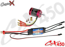 CopterX Cx450-10-07 Brushless Motor 40a ESC for Trex 450 RC Helicopter UK Ship