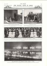 1906 Royal Tour India Prince Eitel Mission To Bhutan Horne Walsham