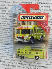 MATCHBOX HAZARD SQUAD HAZARDOUS MATERIAL FIRE & EMERGENCY VEHICLE MBX RESCUE