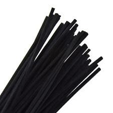 50 Pcs Black Rattan Reed Replacement Stick Fragrance Oil Diffuser Home Decor Set