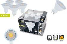 LED GU10 Light Bulbs PAR16 5.5W (56W) 2700K 440lm Dimmable Lamp - 5 PACK