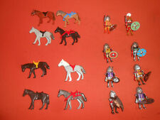PLAYMOBIL: * Mongolian Figures Set of 8 Mongolian Cavalry