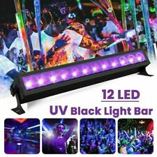 UV Black 12 LED Stage Light Christmas Club Party Disco DJ Night Light UK Plug 45