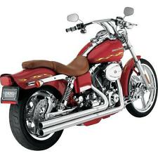 Vance And Hines Longshots Exhaust System, Chrome, #17805, 1991-2005 H-D Dyna