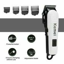 Kemei Electric Shaver Hair Clippers Set Adjustable Blade Trimmer Kit LCD Screen