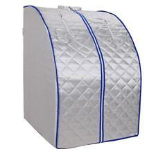 Portable Far Infrared FIR Sauna Tent Indoor Spa Detox Loss Weight Slimming Home