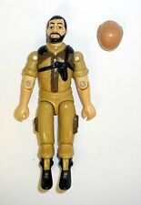 GI JOE TAN CLUTCH Vintage Figure Vamp Mark II Driver COMPLETE 3 3/4 C9 v2 1984