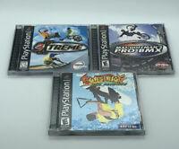 Mat Hoffmans Pro BMX Burstrick 3Xtreme Sports Playstation 1 Video Game Lot PS1