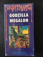GODZILLA Vs. MEGALON VHS Tape Brand New by Parade Video The Nightmares Series 4