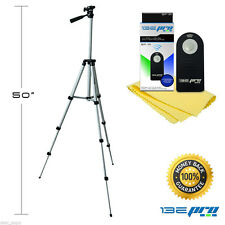 "I3ePro 50"" Inch Camera Tripod with Universal Remote Control for Canon Nikon DSLR"