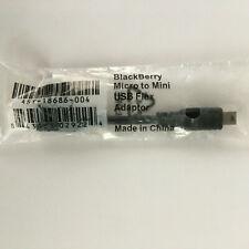 OEM BlackBerry Micro to Mini USB Adapter