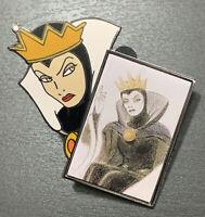 Disney Catalog Shopping Store Villains Evil Queen Sketch Pin LE 2500 Snow White