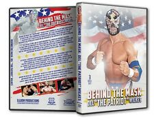 Del The Patriot Wilkes - Behind The Mask DVD WCW AJPW Wrestling WWE Japan WWF