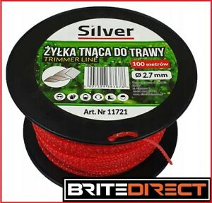 TRIMMER Line 2.7mm x 100m Roll TWISTED STRIMMER TRIMMER WIRE CORD Best Shipping