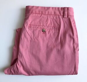 Vineyard Vines Chinos, 36 x 30, Pink Salmon, Breaker Pant, Excellent Condition