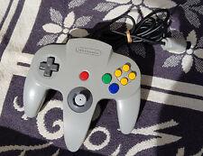 Original Controller Game Pad Nintendo 64 N64 Grau