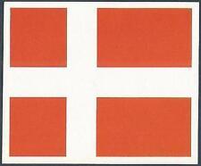ORBIS 1990 WORLD CUP COLLECTION-#210-DENMARK TEAM FLAG