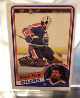 1984-85 OPC Grant Fuhr #241 Edmonton Oilers O-Pee-Chee