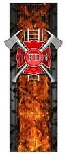 Firefighter firemens fire truck bed band vinyl graphic striping set