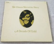 """The Dionne Warwicke Story: A Decade Of Gold"" 2 12"" Vinyl Records LP"
