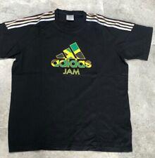 ADIDAS Mens T-Shirt - Black - XL - Short Sleeves London Olympics 2012 Logo