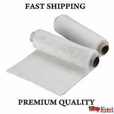 400MM X 1M EXHAUST MOTORCYCLE SILENCER END CAN WADDING WOOL PACKING 10MM FIBRE