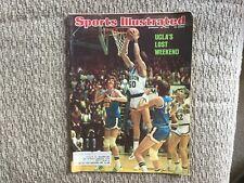 Sports Illustrated February 25, 1974 - BILL WALTON - UCLA's Lost Weekend
