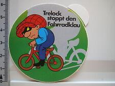 Aufkleber Sticker Trelock - Schlösser - Fahrradschloss - Sicherheit - (2261)