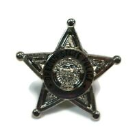 OREGON STATE POLICE Silver Tone Star Vintage Police Badge Lapel Hat Pin