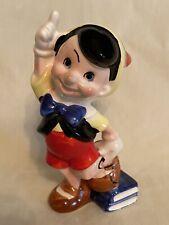 Disney Pinocchio with Books Figurine