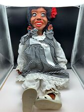 Artistic Doll Wood + Fabric 80 Cm. Very Rarely