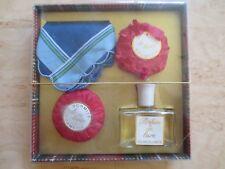 +++Parfum De Luxe Schmittkosmetik Geschenkset 1 Parfümflacon 2 Seifen++Vintage