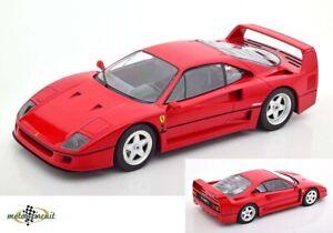 Ferrari F40 diecast 1987 rot 1:18 KK diecast