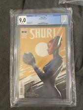 Shuri #2 CGC 9.0‼️Nnedi Okorafor - story‼️ Marvel Low Print Run Black Panther