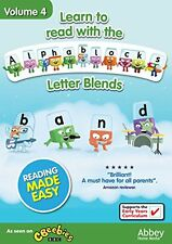 Learn To Read With the Alphablocks  Letter Blends Volume 4 [DVD]