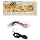 Zero Delay Arcade USB Encoder PC to Joystick MAME 5Pin Sanwa Push Button +Cable
