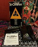 1968 Complete HTF VGC Tri-Ominos by Pressman 4420