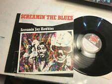 Screamin' Jay Hawkins LP the Blues Red Lightnin RL0025 mono 1979 vinyl album !!