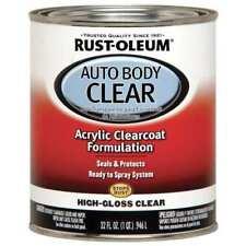 Auto Body Paint,Clear Coat,1 Qt. RUST-OLEUM 253522