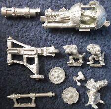 2001 Skaven WARP Lightning Cannon Caos RATMEN CITTADELLA Macchina da Guerra WARHAMMER GW