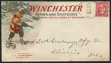 WINCHESTER RIFLES & SHOTGUNS HUNTING COVER 1/20/1917 SALEM, MD HW2291