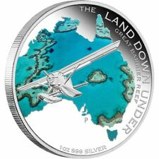 2014 $1 Land Down Under Great Barrier Reef 1oz Silver Proof Coin NUMBERED: 563