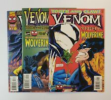Venom: Tooth And Claw #1-3 Complete Set Marvel Comics 1996 VF/NM