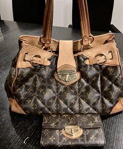 LOUIS VUITTON Monogram ETOILE Shoulder Tote Bag Set With Wallet