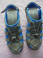 Mens Grey Blue Trek Summer Sandals Beach Sandals UK 7 EU 41 NEW UNWORN